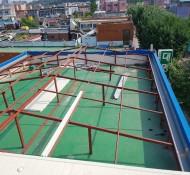 파랑색 지붕은 부천 소사본동 건물 여름은 시원하고 겨울은 따뜻하게  단열 효과 좋고 냉난방비 절감효과